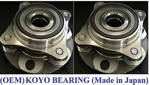 Front Wheel Hub &KOYO Bearing Assembly for TOYOTA FJ CRUISER (4WD)2007-2013 PAIR
