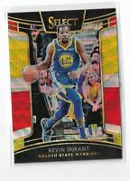 2018-19 Select Basketball Tri-Color Parallel U Pick From List Irving Durant ++