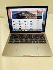 MacBook Pro13-inch,2016, Two Thunderbolt 3 ports 2GHZ i5 8GB RAM 256GB FLASH