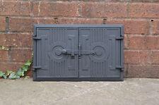 42 x 27.2 cm cast iron fire door clay / bread oven doors pizza stove fireplace