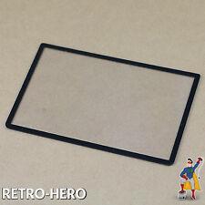 Nintendo 3ds XL display disco vidrio Screen sustituto pantalla vidrio para arriba negro
