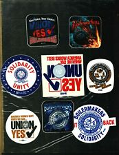 8 DIFFERENT  NICE  BOILERMAKER MINING STICKERS # 20