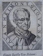 GIOUAN BATTISTA VAN HELMONT (1579-1644) Jean-Baptiste Van Helmont, Alchimiste, c