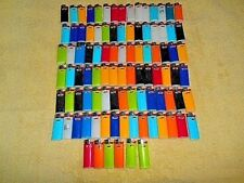 HUGE LOT OF 96 ASSORTED MINI BIC DISPOSABLE CIGARETTE LIGHTERS - ALL TESTED WORK