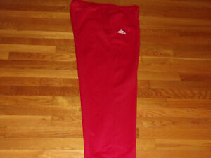 ADIDAS CLIMAWARM RED SWEATPANTS MENS XL EXCELLENT CONDITION