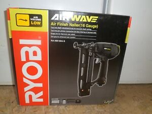 RYOBI AIR Finish NAILER RA-NB1664-S .   NEW IN SEALED BOX