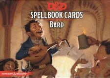 DONJONS & DRAGONS-d&d - Spellbook-Druid-Bard - 120 cards deck-ENGL. - New-Very Rare