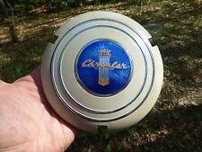 1940 Chrysler Imperial Steering Wheel Horn Button Cloisonne emblem badge