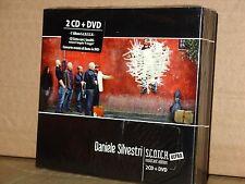 DANIELE SILVESTRI S.C.O.T.C.H. Ultra BOX 2 CD + DVD Digipack  NUOVO SIGILLATO!!!