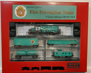 N scale Fire Prevention Train- Smokey- Micro Trains MTL -Forest Fires