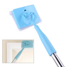 Retractable Baseboard House Cleaning Mop Extendable Microfiber Glide Dust Brush