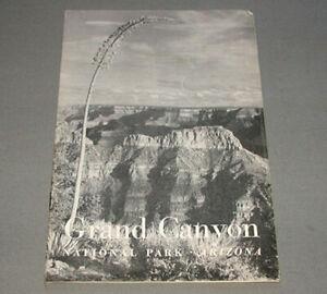 Original 1952 Grand Canyon Arizona USA Travel Tourist Brochure Booklet