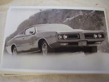 1971 DODGE CHARGER R/T   11 X 17  PHOTO   PICTURE