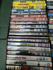 VARIOUS GENRE DVDS FROM R AND S
