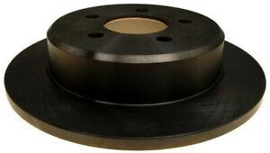 Disc Brake Rotor-Non-Coated Rear ACDelco 18A485A