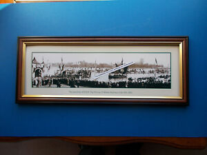 THE LANDING OF H.R.H THE PRINCE OF WALES, SYDNEY, JUNE 16TH 1920 FRAMED