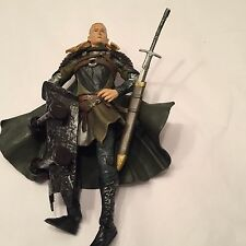 "2004 Lord Of The Rings ToyBiz Action Fig 7.5"" Legolas Two Towers Helms Deep #17"