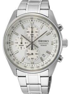 Seiko Gents Chronograph Date Display Watch SSB375P1 NEW