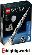 LEGO 21309 Ideas NASA Apollo Saturn V BRAND NEW SEALED BOX | Melbourne Stock