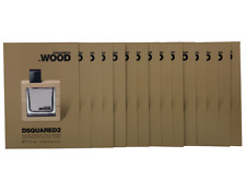 Dsquared2 He Wood Eau De Toilette 22,5ML (15 campioncini 1,5ml) Profumo Raro