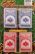Casino Poker 4 Decks Playing Cards Sealed