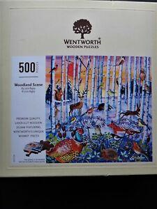 Wentworth -Woodland Scene (892106) 500 pieces. Wooden jigsaw puzzle