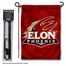 Elon Phoenix Garden Flag and Yard Stand Included