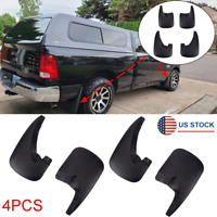 4x Mud Flaps Splash Guards Mudflaps For Dodge Ram 1500 2009-18 w/o Fender Flares