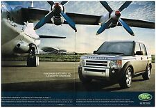Publicité Advertising 2006 (2 pages) 4X4 Special Discovery 3 Atlantic Land Rover