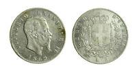 s644_101) Vittorio Emanuele II Re d'Italia (1861-1878) 5 lire 1869