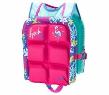 NEW SPEEDO KIDS ONE SIZE 30-50 LBS WATER SKEETER LIFEVEST PINK 7753062
