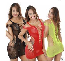 Sexy Net FishNet Body Stockings Lingerie Nightwear/Underwear Babydoll Plus Size