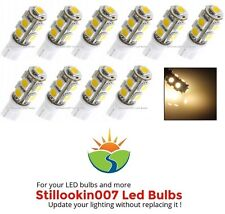 10 - Low Voltage Landscape T5 LED bulbs WARM WHITE 9LED's per bulb