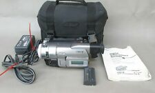 Sony Handycam Trv103 Digital 8 Hi8 Night Vision Transfer & 2 Batteries