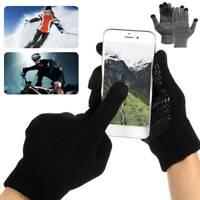 Gants à écran tactile Work Finger Homme Femme Hiver Antidérapant Vélo Doublure G