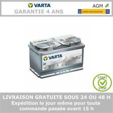 VARTA SILVER dynamique F21 AGM 12V 80AH Start-Stop Batterie De Voiture 580901080