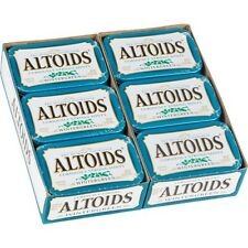 Altoids, Wintergreen Candy Mints 1.76 oz, 24 ct Tins