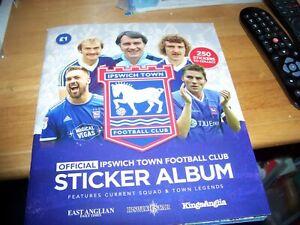 COMPLETE SET Ipswich Town F.C  Sticker Album 2020