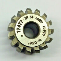 Gear cutting hob 34 DP 20pa  with  10 mm bore Manufactured by Mikron