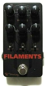 Used Keeley Filaments High Gain Distortion Guitar Effects Pedal