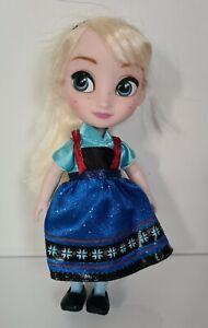 """Disney Animators Elsa 5"""" Mini Doll Figure"""