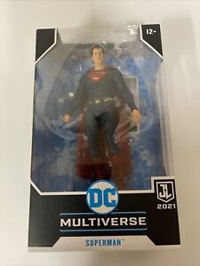 McFarlane DC Multiverse Superman Snyder Justice League Red/Blue Target Exclusive