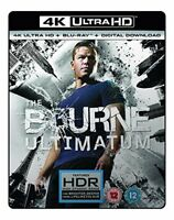 The Bourne Ultimatum  (4K UHD Blu-ray + Blu-ray + Digital Download) [2007] [DVD]