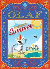 MEGA BRANDS DISNEY FROZEN FRIENDS JIGSAW PUZZLE CELEBRATE SUMMER 300 PCS OLAF