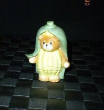 "1988 Lucy & Me Enesco ""Corn"" Vegetable Bear Figurine"