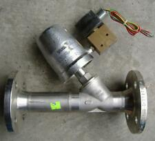 NEW Schubert & Salzer 7031 Angle Bodied Flanged Valve