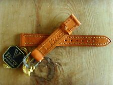 New - Correa Strap VICEROY Piel Marrón Brown Leather - For watches - Nueva