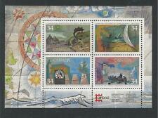 CANADA # 1107b MNH CAPEX '87, EXPLORATION Souvenir Sheet