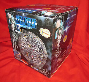 Star Trek First Contact BORG SPACESHIP 1996  by Playmates--New in  Box New Batts