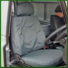 DA2818GREY LAND ROVER DEFENDER 07 ONW GREY FRONT WATERPROOF SEAT COVER SET